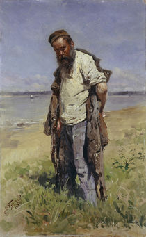 Makovsky / Man at a river / 1896 by AKG  Images
