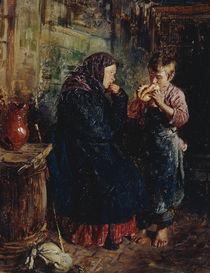 V.Y.Makowski / Old Woman & Boy / 1883 by AKG  Images