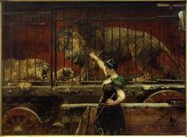 P.Meyerheim, Die eifersüchtige Löwin von AKG  Images