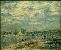 A.Sisley, Die Pont de Sèvres by AKG  Images