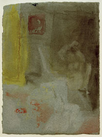 W.Turner, Schlafzimmer mit nackter Frau by AKG  Images