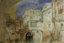 Venedig, S.Luca / Aquarell v. Turner by AKG  Images