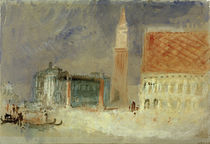 Venedig, Piazzetta / Aquarell v. Turner by AKG  Images