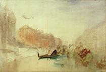 Venedig, Canal Grande / Aquarell v. Turner von AKG  Images