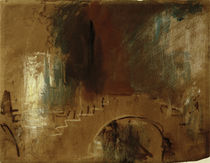 Venedig, Brücke / Aquarell v. Turner by AKG  Images