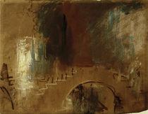 Venedig, Brücke / Aquarell v. Turner von AKG  Images