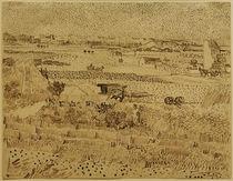 V. v. Gogh, Ernte in der Provence, von AKG  Images