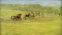 M.Slevogt, Harness Racing / Painting / 1907 by AKG  Images