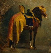Isidore Pils, Pferd mit Schabracke by AKG  Images