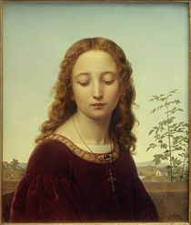 E.Deger, Bildnis eines jungen Mädchens by AKG  Images
