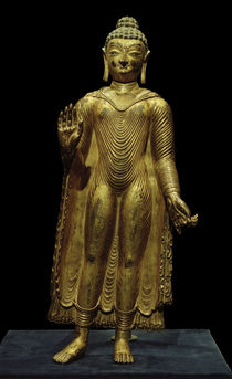 Buddha Sakyamuni / Skulptur, 7./8. Jhdt. by AKG  Images