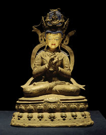 Tathagata Vairocana / Skulptur, 1300 n. Chr. von AKG  Images