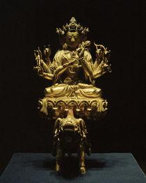 Gottheit Marici / Skulptur, 15. Jhdt. von AKG  Images