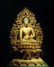Svaraghosa-Raja (?) / Skulptur, 18. Jhdt. von AKG  Images