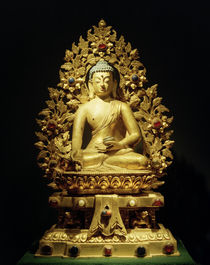 Bhaisajyaguru-Vaiduryaprabharaja / Skulptur, 18. Jhdt. by AKG  Images