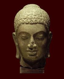 Kopf eines Buddha / kambodschanisch, Prä-Angkor-Periode, 7. Jh. by AKG  Images
