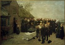 Ch. L.Brokelmann, Nordfriesisches Begräbnis by AKG  Images