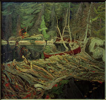 J.E.H.MacDonald, The Beaver Dam von AKG  Images