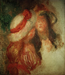 Auguste Renoir / Two Young Girls by AKG  Images