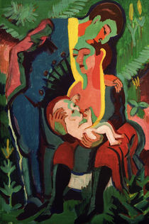 E.L. Kirchner, The Family by AKG  Images