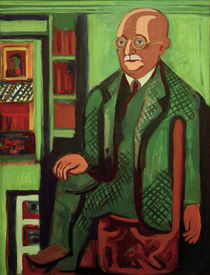 E.L.Kirchner / Portrait of Dr. Hagemann by AKG  Images