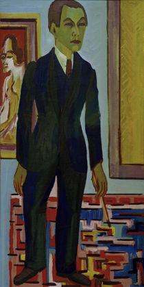 E.L.Kirchner / Dying Artist / Self-Portrait by AKG  Images