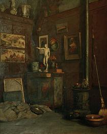 G.Caillebotte, Intérieur d'atelier von AKG  Images