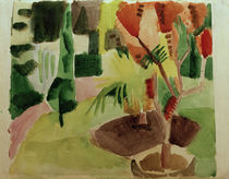 A.Macke / Our Garden by the Lake 2 / 1914 by AKG  Images