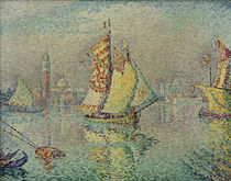 Paul Signac, Laguna, voile jaune by AKG  Images