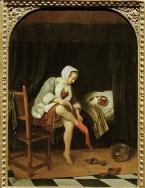 J.Steen, Frau bei der Toilette von AKG  Images