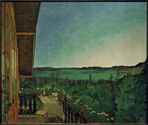 H.O.Sohlberg, Sommernacht by AKG  Images