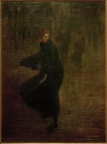 Th.-A.Steinlen, Junge Arbeiterin auf der Straße von AKG  Images