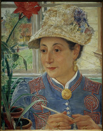 E.Josephson, Porträt von Jeanette Rubenson by AKG  Images