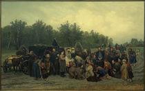 K.A.Sawizki, Der Empfang der Ikone / Gemälde, 1878 by AKG  Images
