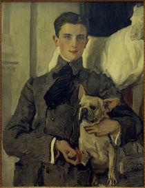 Felix Jussupow, Porträt / Gemälde von V.Serow, 1903 by AKG  Images