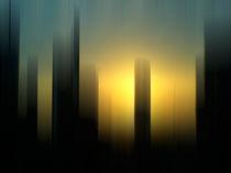 Sonnenaufgang Frankfurt Skyline von Michael Schickert