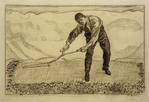 F.Hodler, Mäher auf dem Felde by AKG  Images
