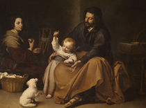 Holy Family with Bird / Murillo /  c. 1650 by AKG  Images