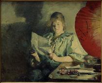 Harriet Backer, Abend, Interieur von AKG  Images