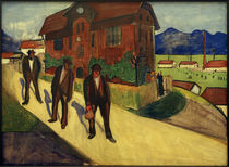 M. v. Werefkin, Feierabend / Gemälde, 1909 by AKG  Images