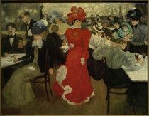 H.Evenepoel, Im Café d'Harcourt in Paris by AKG  Images