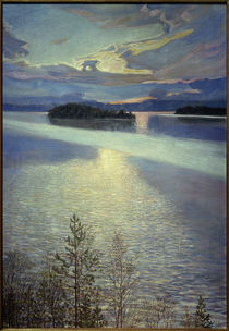 Sea View / A.Gallen-Kallela / Painting, 1901 by AKG  Images