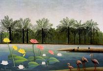 H.Rousseau, Die Flamingos von AKG  Images