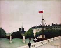H.Rousseau, Blick .. auf Ile Saint-Louis von AKG  Images