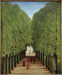 H.Rousseau, Allee im Park Saint-Cloud von AKG  Images