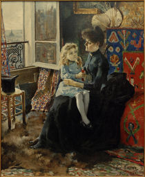 A.Gallen-Kallela, Mutter und Kind von AKG  Images