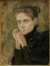 A.Gallen-Kallela, Porträt der Schauspielerin Ida Aalberg von AKG  Images