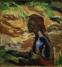 A.Gallen-Kallela, Kikuyu am Flussufer von AKG  Images
