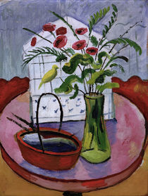 August Macke / Bird Cage / Painting by AKG  Images