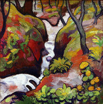 August Macke / Forest Brook by AKG  Images